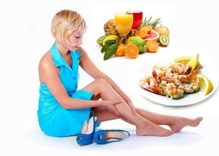 diet with varicose veins for a week